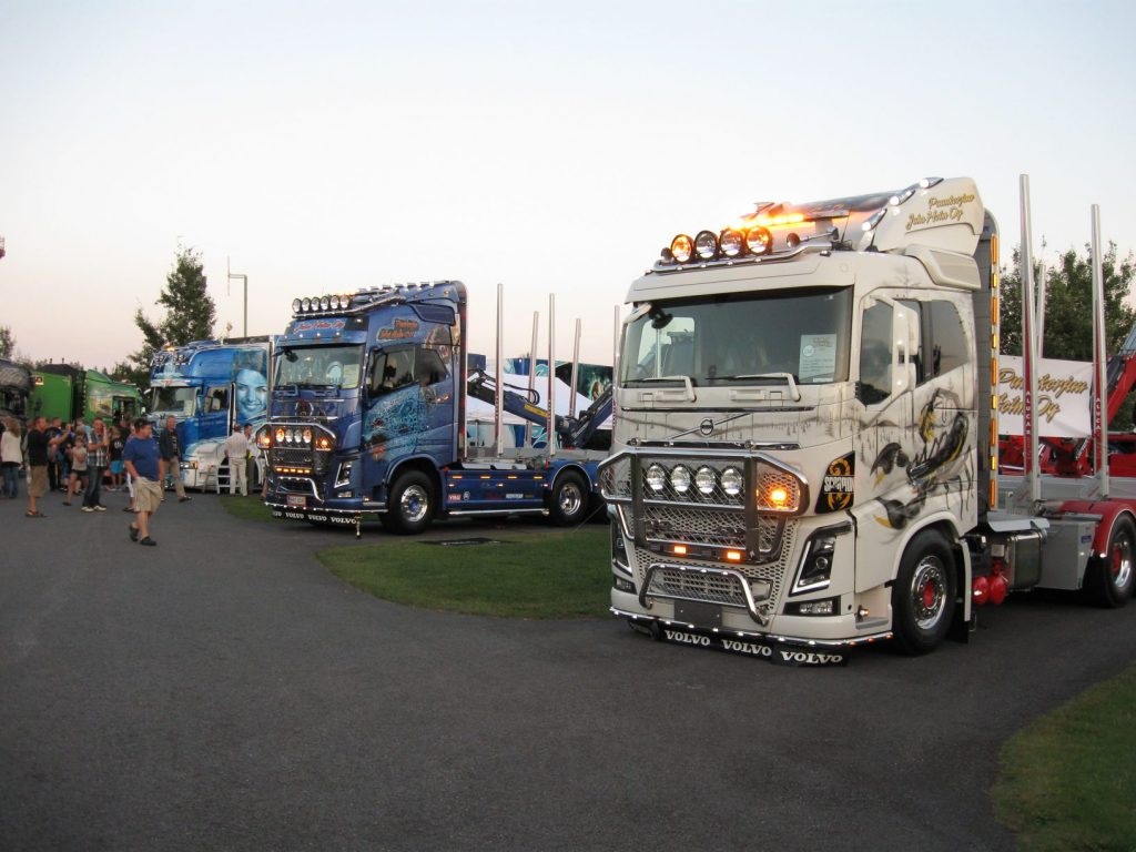 Power truck show, valoshow 2014